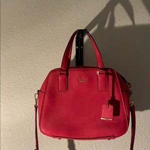 Kate spade hot pink medium crossbody bag
